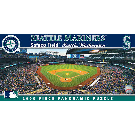 Seattle Mariners Panoramic Puzzle