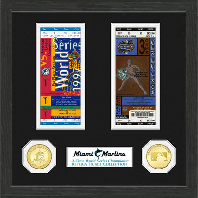 Miami Marlins World Series Ticket Collection