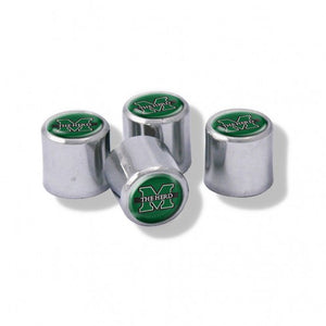 Marshall Thundering Herd Valve Stem Cover 4 Pack