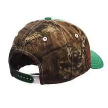Marshall Thundering Herd Hideaway Mossy Oak Curved Bill Snapback