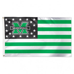 marshall football, marshall basketball, marshall flag, marshall thundering herd flag