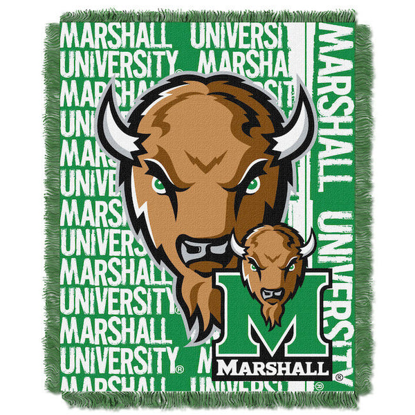 "Marshall University Thundering Herd 48""x""60 Tapestry Throw Blanket"