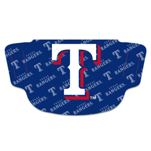 Texas Rangers Fan Mask
