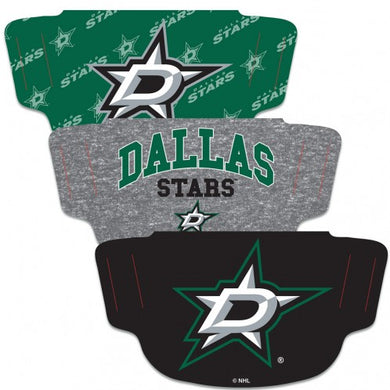Dallas Stars Adult Face Covering 3-Pack