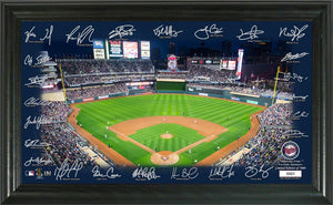 Minnesota Twins Signature Field Limited Edition Frame