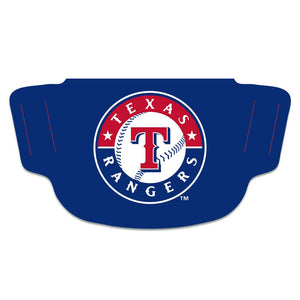 Texas Rangers Fan Mask Adult Face Covering