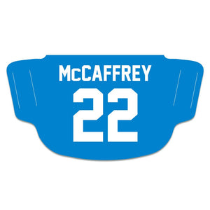 Christian McCaffrey Carolina Panthers Fan Mask