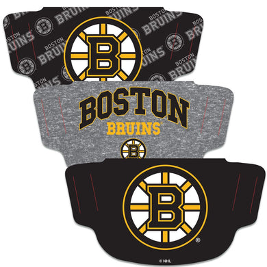 Boston Bruins Fan Mask Adult Face Covering