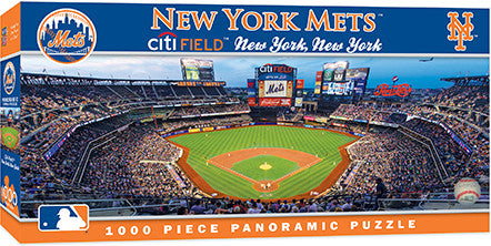 New York Mets Panoramic Puzzle