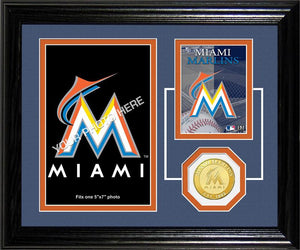 miami marlins picture frame
