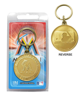 miami marlins key chain