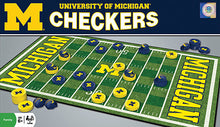 michigan wolverines checkers