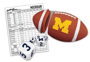 Michigan Wolverines Shake 'n Score Game