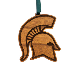 Michigan State Spartans Wood Ornament