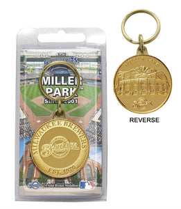 milwaukee brewers key chain