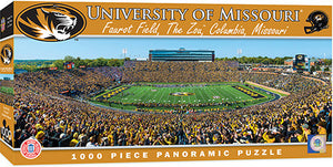 Missouri Tigers Football Panoramic Puzzle
