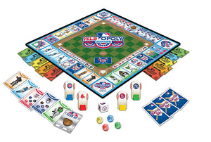 MLB Baseball Opoly Junior Board Game, yankees white sox twins tigers st louis cardinals royals rockies REDS rays rangers pirates phillies orioles nationals mets marlins mariners indians giants dodgers diamondbacks cubs brewers braves Boston Red Sox blue jays athletics astros angels