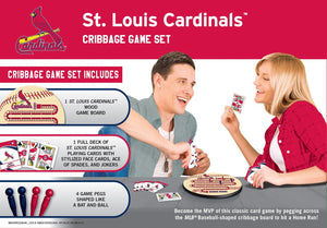 St. Louis Cardinals Cribbage Game