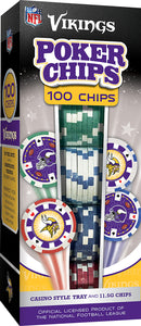 Minnesota Vikings Poker Chip Set