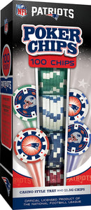 New England Patriots Poker Chip Set