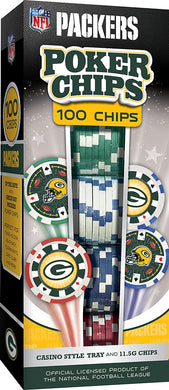 Green Bay Packers Poker Chip Set