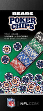 Chicago Bears Poker Chip Set
