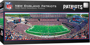 New England Patriots Panoramic Puzzle