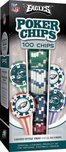 Philadelphia Eagles Poker Chip Set