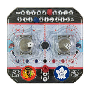 NHL Hockey Popup Dice Game