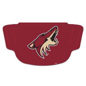 Arizona Coyotes Fan Mask Adult Face Covering