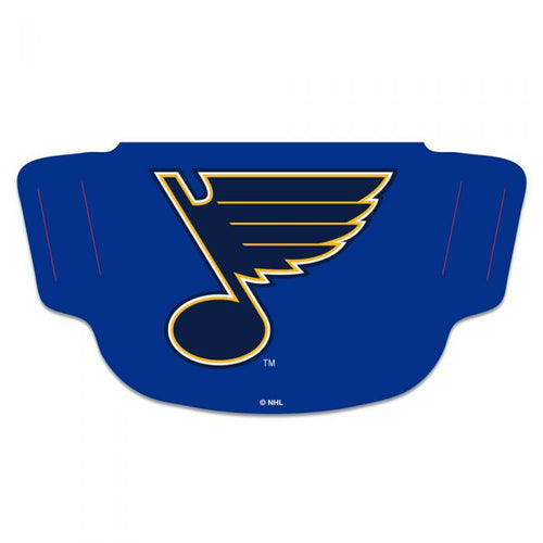 St. Louis Blues Fan Mask Adult Face Covering