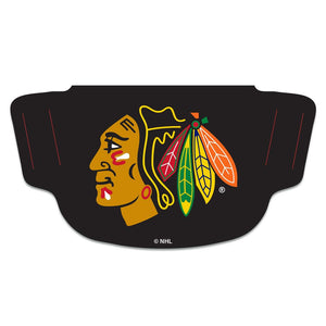 Chicago Blackhawks Black Fan Mask