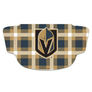 Vegas Golden Knights Plaid Fan Mask