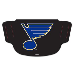 St. Louis Blues Black Fan Mask