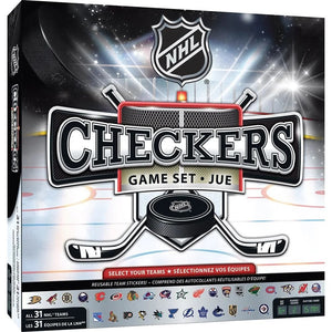 NHL Hockey League Checkers Game