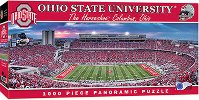 Ohio State Buckeyes Football Panoramic Puzzle