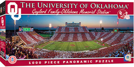 Oklahoma Sooners Football Panoramic Puzzle