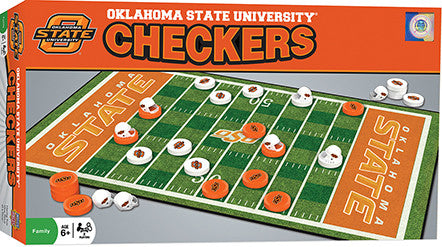 Oklahoma State Cowboys Checkers