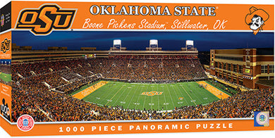 Oklahoma State Cowboys Football Panoramic Puzzle