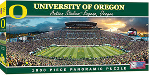 Oregon Ducks Football Panoramic Puzzle