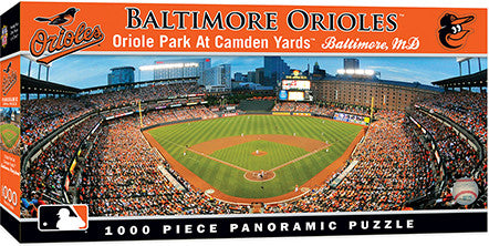 Baltimore Orioles Panoramic Puzzle