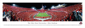 Ohio State Buckeyes Ohio Stadium End Zone Panoramic Picture