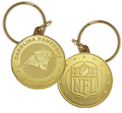 Carolina Panthers Bronze Keychain