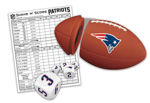 New England Patriots Shake 'n Score Game