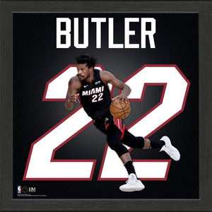 Jimmy Butler Miami Heat Impact Jersey Framed Photo