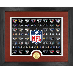 Super Bowl 55 History Bronze Coin Photo Mint