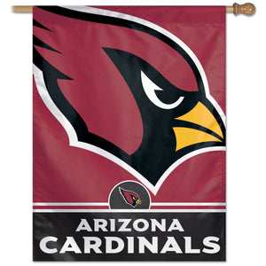 "Arizona Cardinals Vertical Flag - 27""x37"""