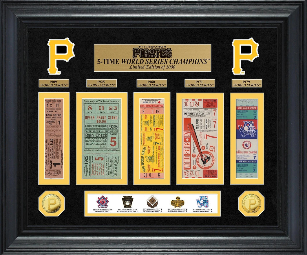 Pittsburgh Pirates world series champions