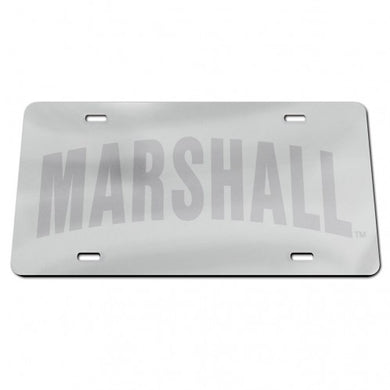 Marshall Thundering Herd Frosted License Plate