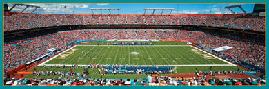 Miami Dolphins 1000 piece Panoramic Puzzle